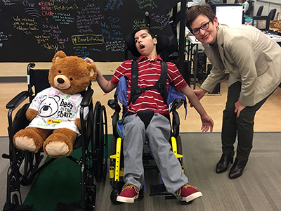 Love's Travel Stops Bear In The Chair Program