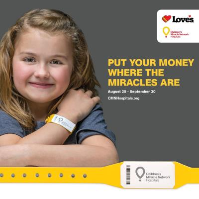 Children's Miracle Network Love's Travel Stops