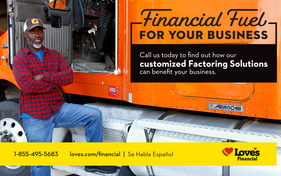 Sign up today to Freight Factor With Love's Financial