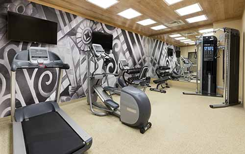 Best Western Plus Hudson Hotel & Suites Fitness Room