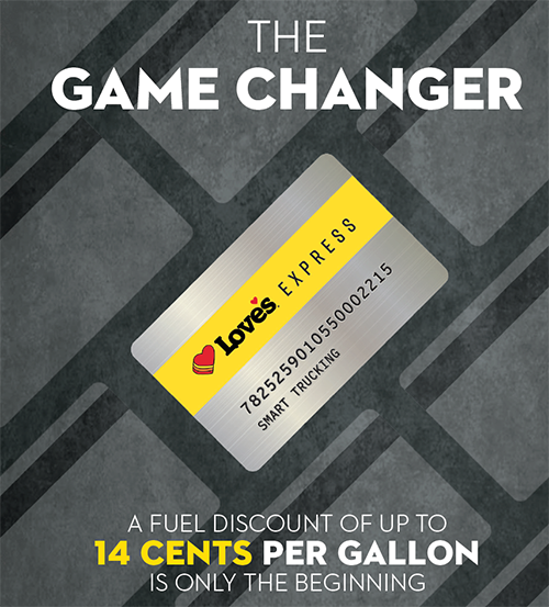The Game Changer - A fuel discount of up to 14 centers per gallon