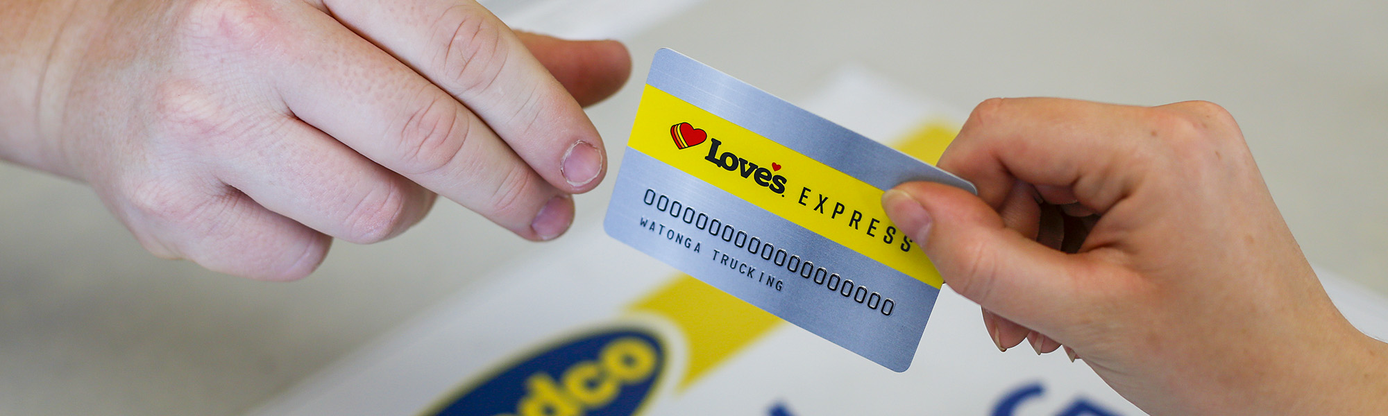 Love's Express Credit