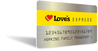 Sign up for Love's Express Credit today