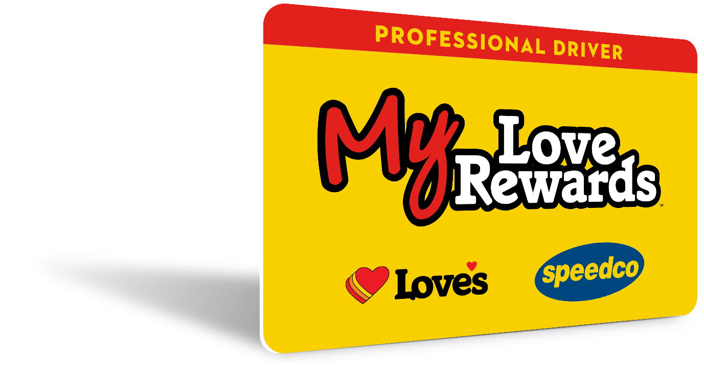 My Love Rewards is the Best Program for Professional Drivers On the Road Today