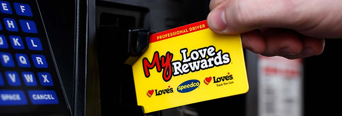 Earn points to spend in store and more with My Love Rewards