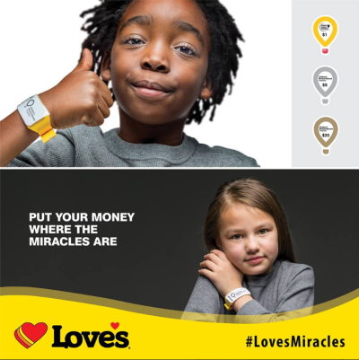 Love's raises nearly $2M for Children's Miracle Network Hospitals