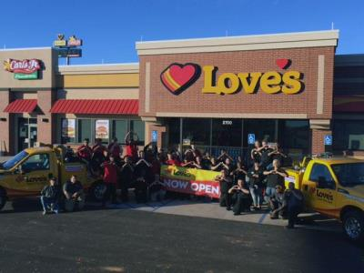 Love's 604 grand opening in Guthrie, Oklahoma