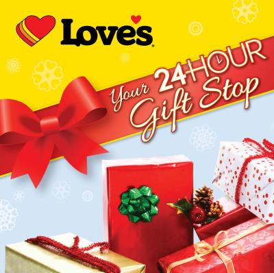 Love's 24-hour Gift Stop for holidays
