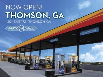 CNG Fast-Fill available in Thomson, Georgia