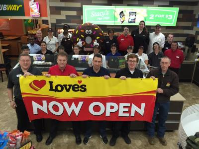 Love's Opens store in Canaan, New York