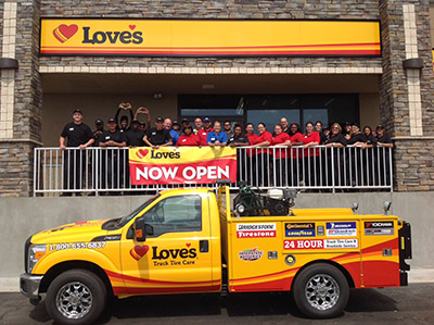 love's store team in Davenport