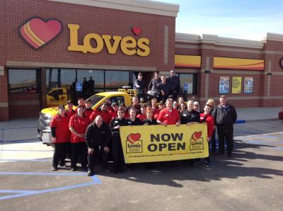 Box Elder, South Dakota, opening at Love's Travel Stops