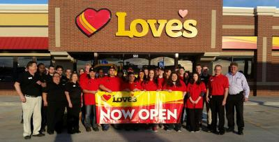 Love's store team in Burlington, Colorado