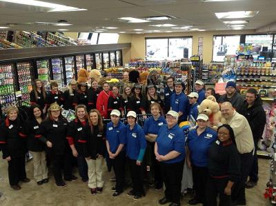 Ingalls Indiana Love's 600 grand opening