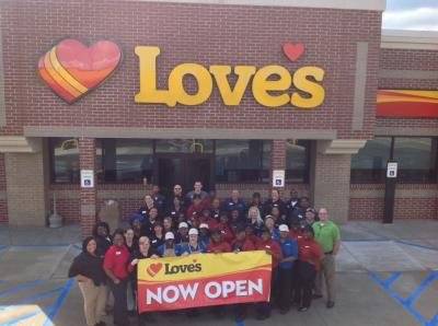 Love's Travel Stops in Prichard, Alabama