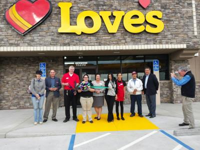 Love's grand opening Lodi California