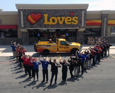 Grand opening at Love's in Lubbock, Texas
