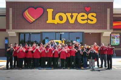 Love's Travel Stops in McPherson, Kansas