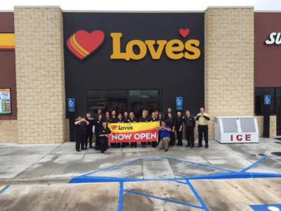 Union City grand opening at Love's Travel Stops