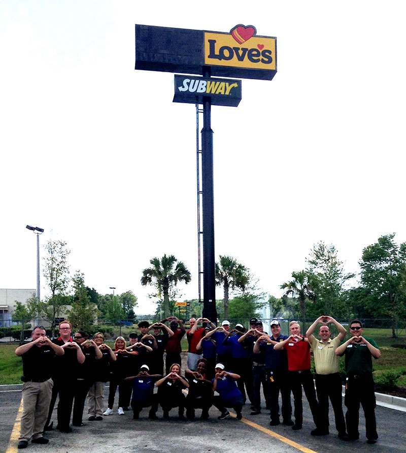 Love's Travel Stops opens in Jacksonville, Florida