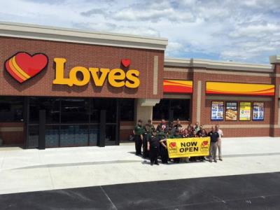 Love's Travel Stops opens in Knightstown, Indiana