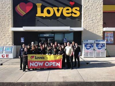Love's in Texhoma, Oklahoma, store opening