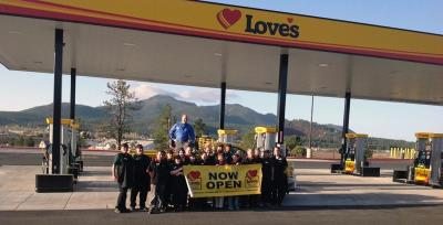 Love's Travel Stops now open in Williams, Arizona