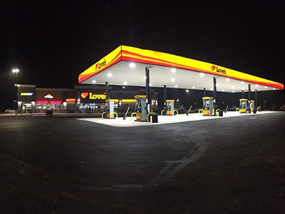 Love's opens travel stop in Sonora, Texas