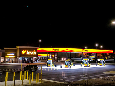 Indiana Gas Tax >> Love's Travel Stops