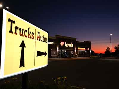 Love's Travel Stops & Country Stores 218 Outlook