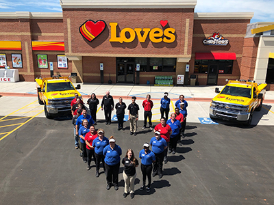 Love's Opens in North Carolina