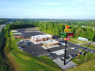 hanson kentucky love's travel stop exterior