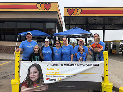 cmn funraiser at loves in texas