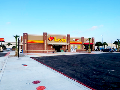 Love's Travel Stops opens in Brownsville