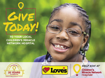 cmn hospitals miracle child for loves travel stops campaign