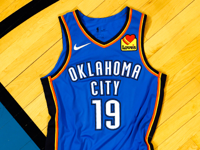 NBA's Oklahoma City Thunder to feature Love's logo on Jerseys