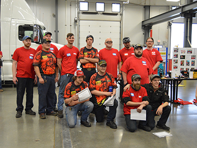 Love's and Speedco Mechanics Have Record Competition Year in SuperTech Competitions