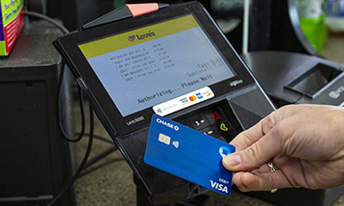 Love's contactless pay