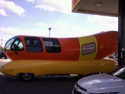 Weinermobile at Love's