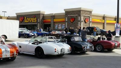 Cobra car club at Love's