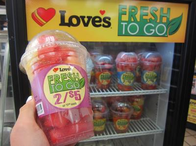love's fresh to go cups