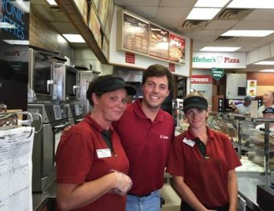 love's interns go into travel stops