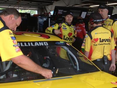 NASCAR with Gilliland at Watkins Glen