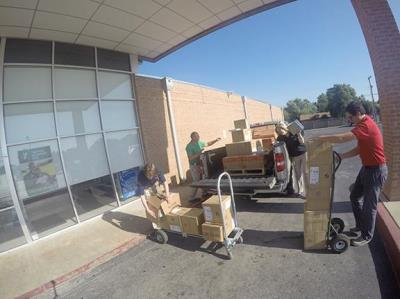 Love's donates school supplies