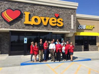 Jonesboro chamber of commerce at Love's