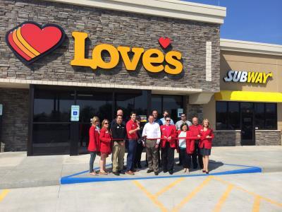 Love's grand opening in Jonesboro