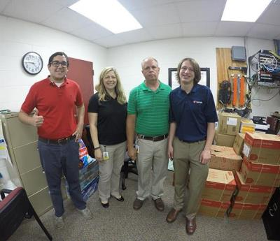 Love's employees help with Pack the Pack donations