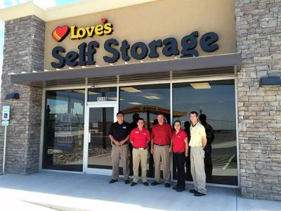 Self storage in El Paso, Texas