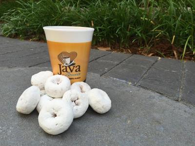 national donut day with Love's coffee