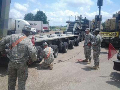 mississippi national guard at love's